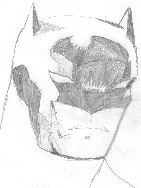 Batman Head 1