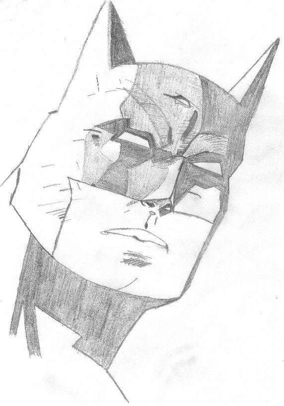 Batman Head 3