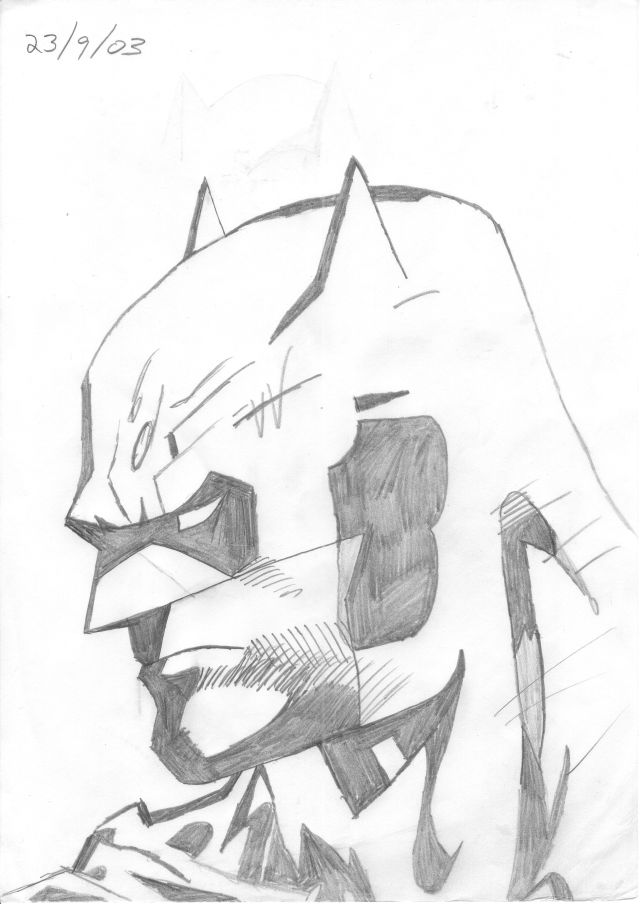 Batman Head 4